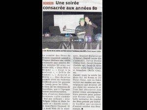 article de presse janvier 2012